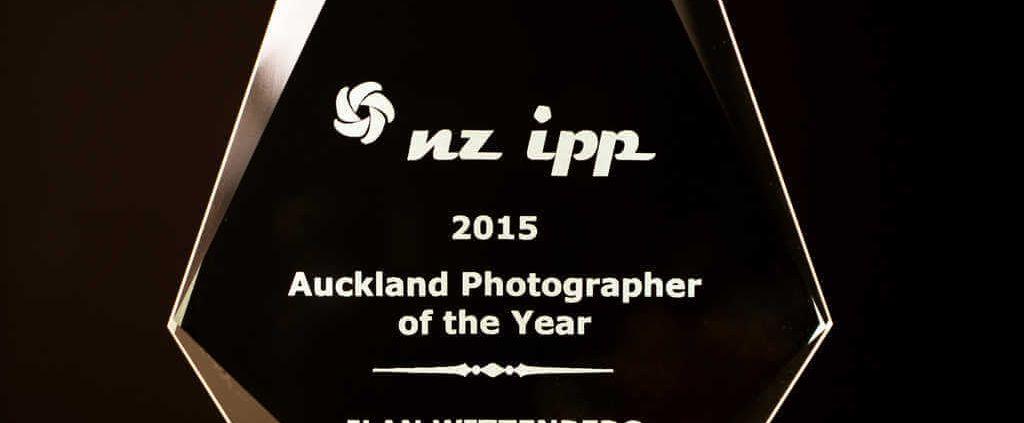 2015 NZIPP Auckland Photographer of the Year award