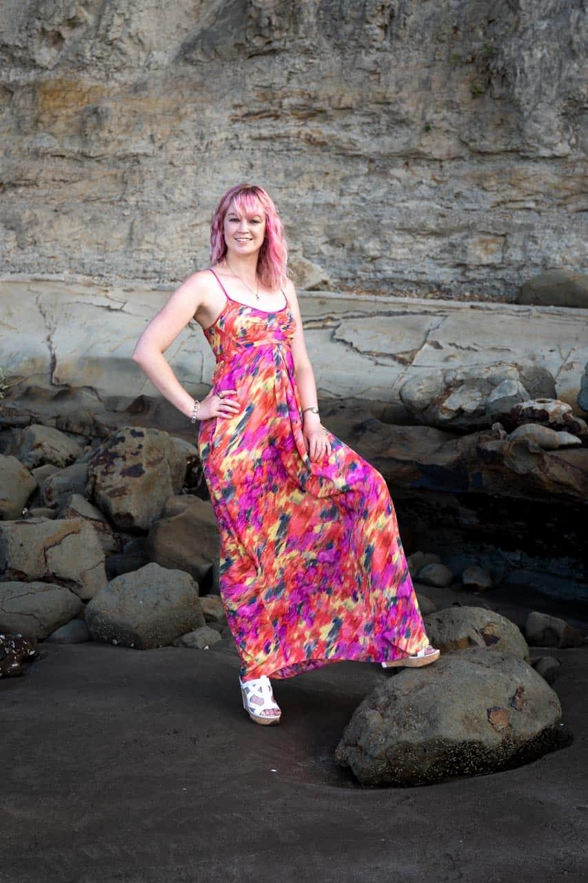 Glamour at Castor Bay Beach